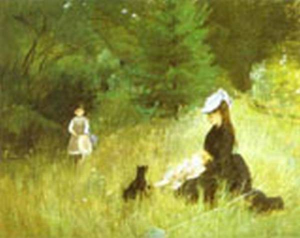 in the grass 1874 XX musee du petit palais paris france